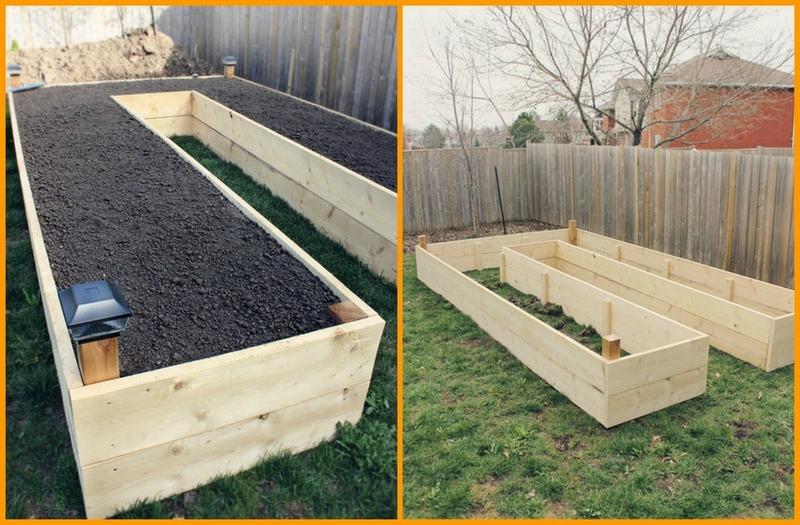 landscaping Raised garden vegetable beds local landscaping